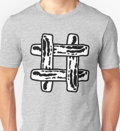 Bacon Hashtag Always Trending  T-Shirt