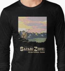 Safari Zone Long Sleeve T-Shirt
