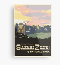 Safari Zone Metal Print