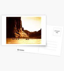 Vintage Photographie von Canyon de Chelly Postkarten