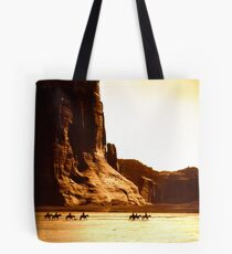 Vintage Photograph of Canyon de Chelly Tote Bag