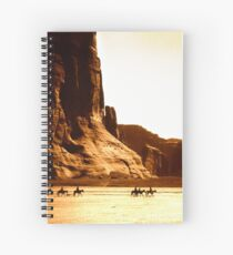 Vintage Photograph of Canyon de Chelly Spiral Notebook