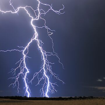 Lightning near Parrakie, SA by Malleescapes