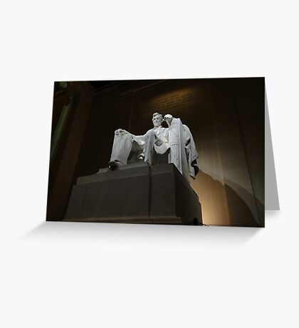 Honest Abe, The Great Emancipator Greeting Card