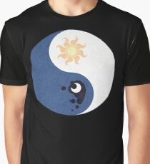 Celestia and Luna Yin Yang Graphic T-Shirt