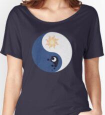 Celestia and Luna Yin Yang Women's Relaxed Fit T-Shirt