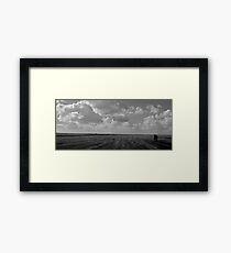 Landscape Texels beach  Framed Print