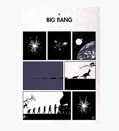 99 Steps of Progress - Big bang Photographic Print