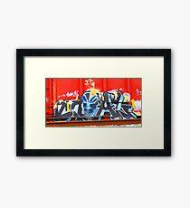 Candy Pink  9390 Framed Print