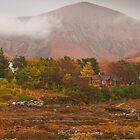 Autumn colors at Sligachan, Scotland by Gabor Pozsgai