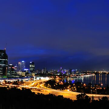 Perth, Western Australia by Malleescapes
