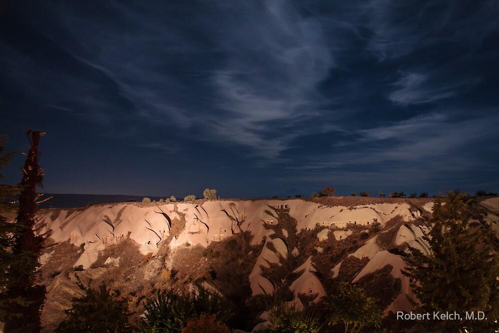 Cappadocia at Night by Robert Kelch, M.D.