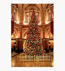 Christmas at 333 Collins Street Photographic Print