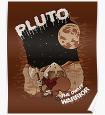 Pluto the Dwarf Poster