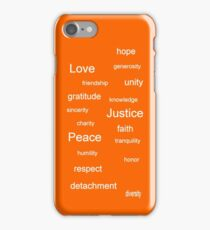Justice - Tangerine iPhone Case/Skin