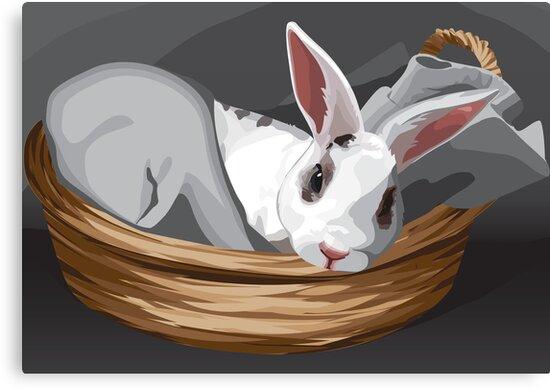 Odin Bunny by MsSLeboeuf