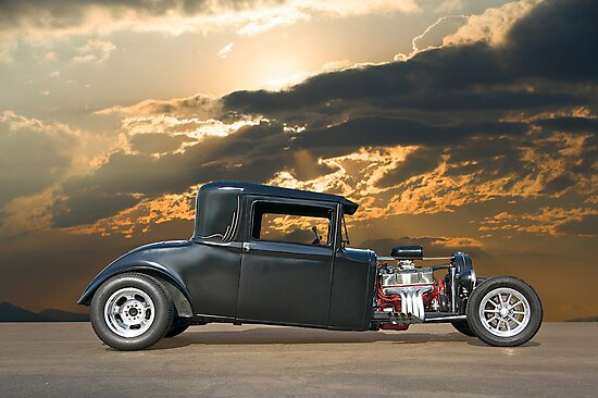 1930 Hudson Hot Rod Coupe ll by DaveKoontz