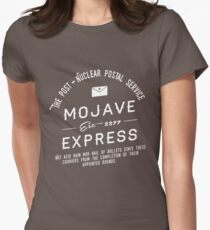 Mojave Express - The Post Nuclear Postal Service. Women's Fitted T-Shirt