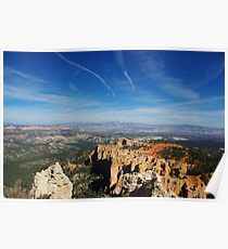 Wide view over Bryce Poster