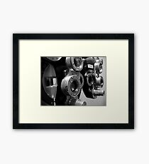 Machine (available in iphone, ipod & ipad) Framed Print