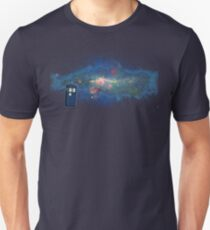 TARDIS & The Milkyway T-Shirt