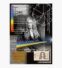 issac newton Photographic Print