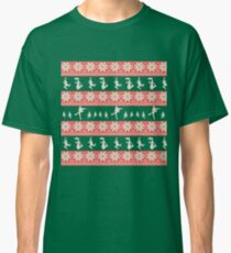 Mary Christmas Sweater Print Classic T-Shirt