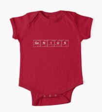 GENIUS! Periodic Table Scrabble [monotone] Kids Clothes