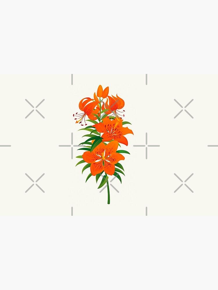 Red Lily by rusanovska