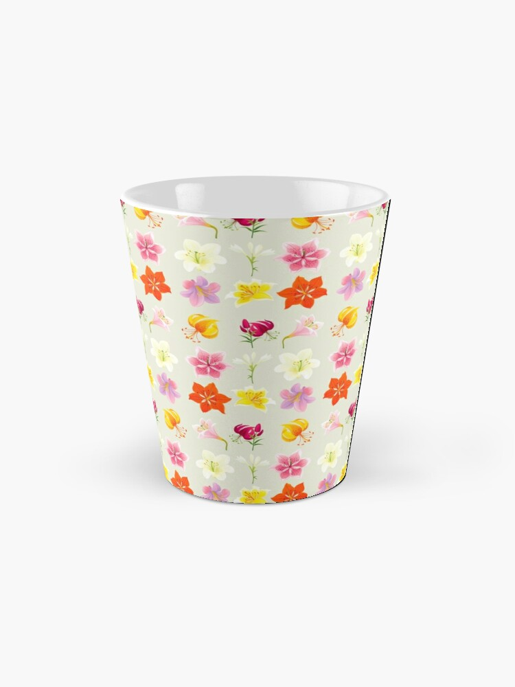 Alternate view of Colorful Lilies Mug