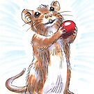 Holiday Critters - Mouse by Stephanie Smith