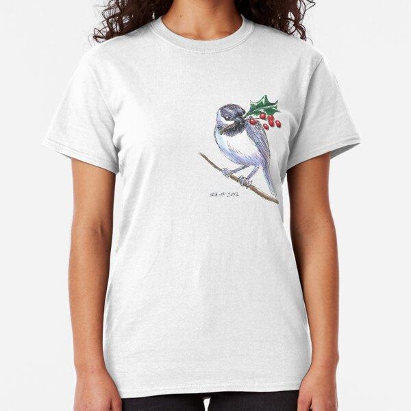 Holiday Critters - Chickadee Classic T-Shirt