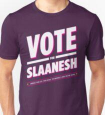 Vote for Slaanesh Unisex T-Shirt