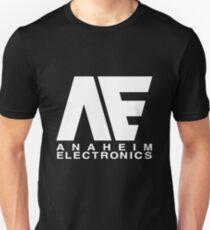Anaheim Electronics Logo White Unisex T-Shirt