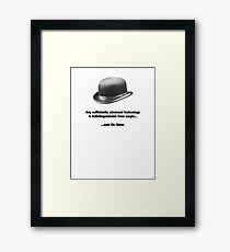 Mr. Benn - Futurist Framed Print