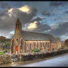 "Church ""Saint Martin""of Omonville la Petite by Michaël Tardif"