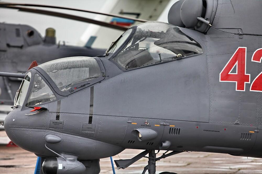 attack helicopter by mrivserg