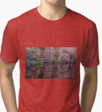 Canton, New Jersey USA Pond Peak Color Tri-blend T-Shirt