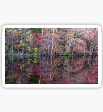 Canton, New Jersey USA Pond Peak Color Sticker