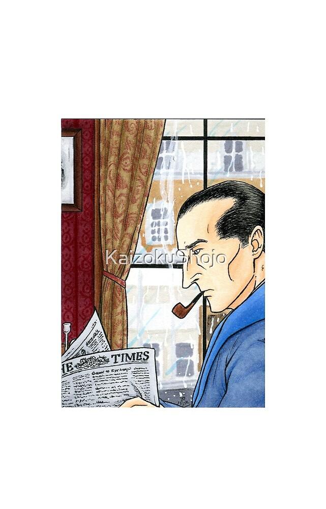 Sherlock Reading by KaizokuShojo
