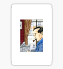 Sherlock Reading Sticker