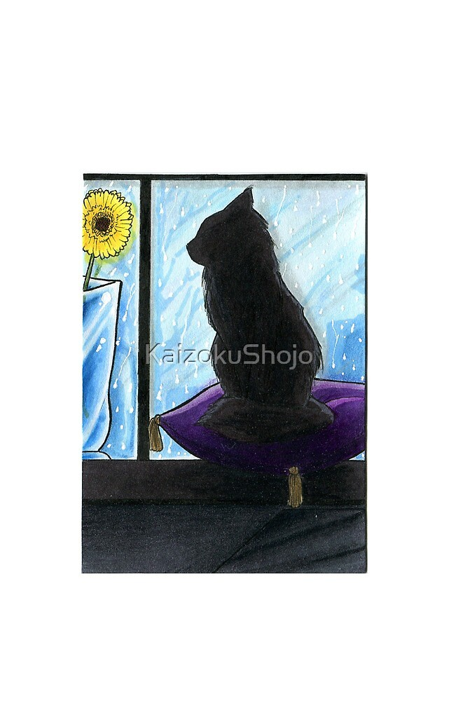 Window Cat by KaizokuShojo