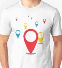 GeoLocations Unisex T-Shirt