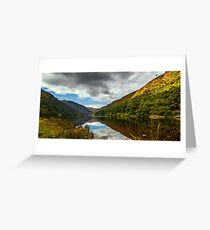 Glendalough, County Wicklow, Ireland Greeting Card