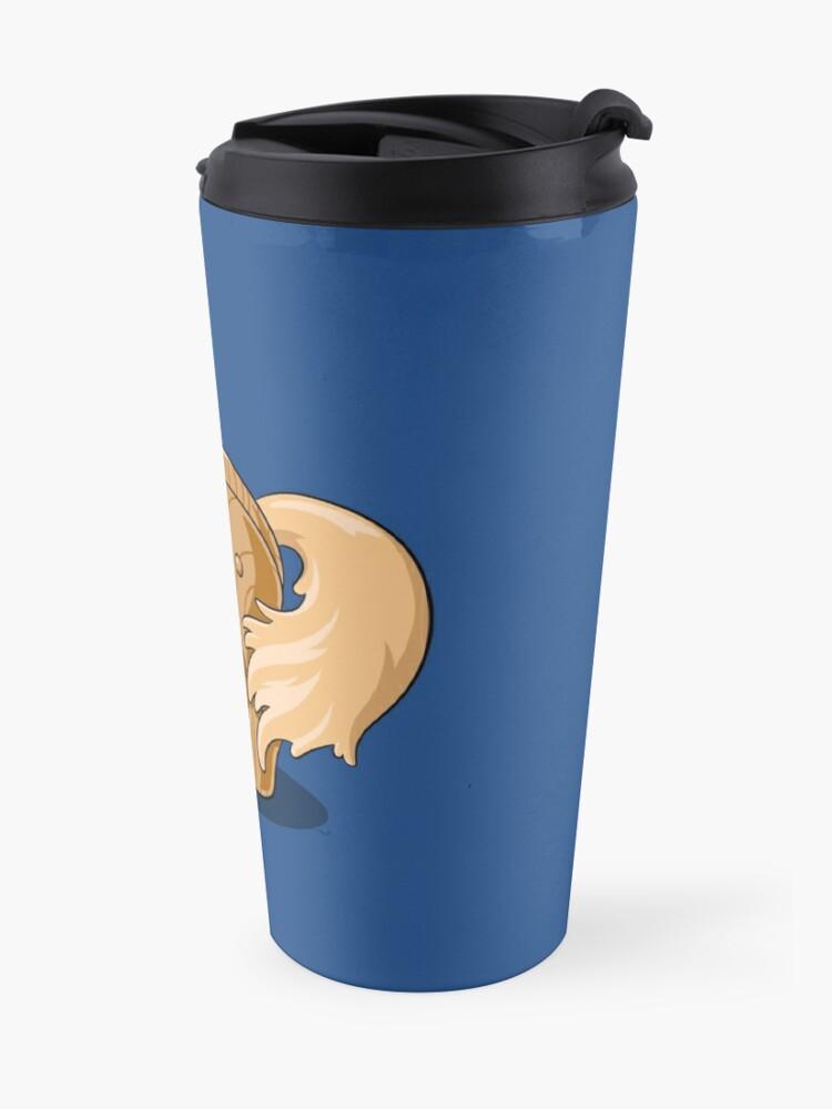Alternate view of Unocchio the Wooden Unicorn Travel Mug