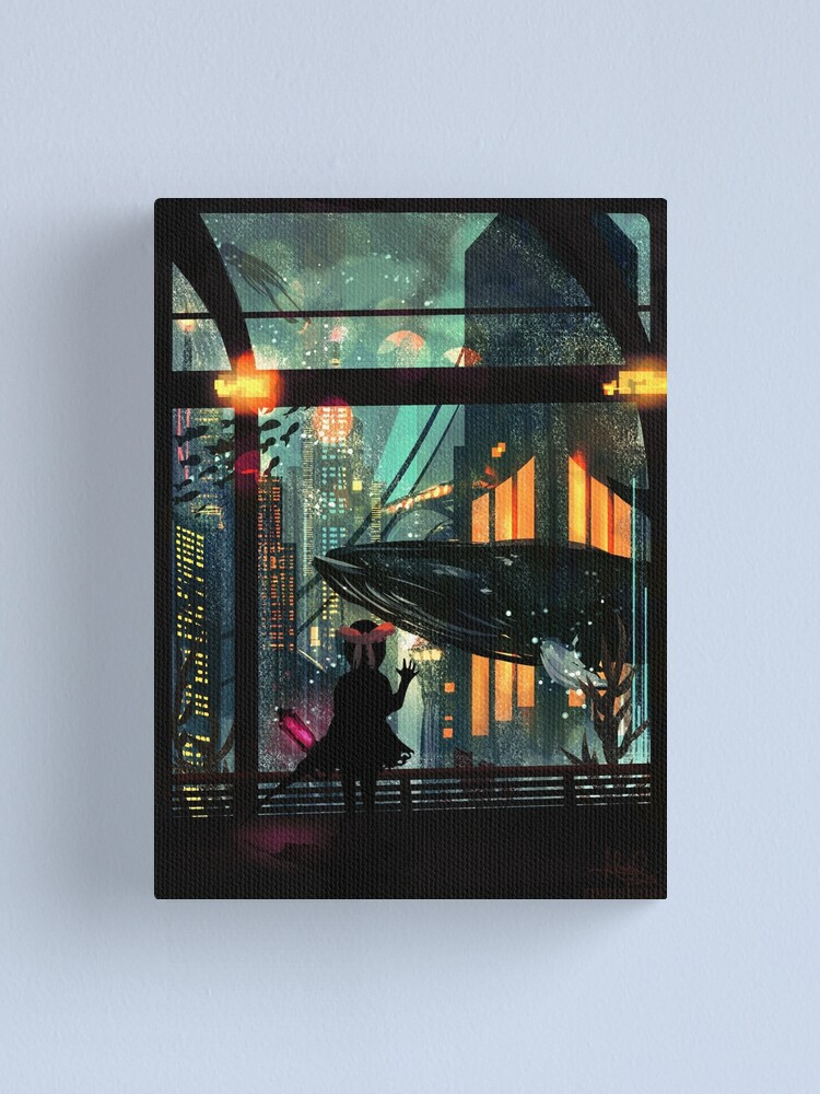 Alternate view of Under The Sea Canvas Print