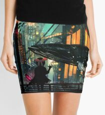 Under The Sea Mini Skirt