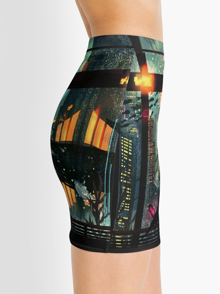 Vista alternativa de Minifalda Debajo del mar