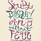 Study Broadly by six-fiftyeight