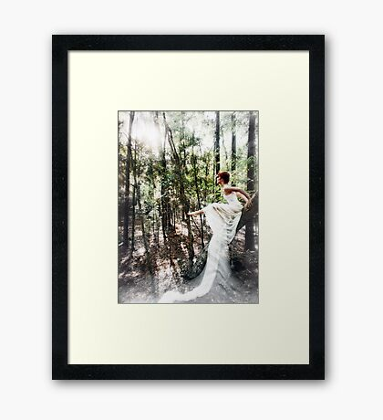 Enchantment is a Subtlety Framed Print